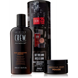 AMERICAN CREW 25 Years Daily Moisturizing Shampoo & Pomade Komplekts Vīriešiem