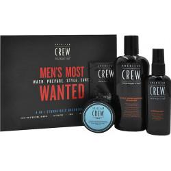 AMERICAN CREW Men's Most Wanted Komplekts