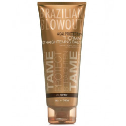 BRAZILIAN BLOWOUT Acai Protective Thermal Straightening Matu Balzāms 240 ml