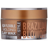 BRAZILIAN BLOWOUT Açai Flexible Molding Clay Wax Māls-Vasks 60 ml