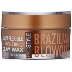 BRAZILIAN BLOWOUT Açai Flexible Molding Clay Wax Māls-Vasks 60 ml