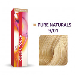 WELLA PROFESSIONALS Color Touch 9/01 Very Light Blond/Natural Ash Demi-Permanent Matu Krāsa 57 g