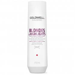 GOLDWELL Dualsenses Blondes & Highlights Anti-Yellow Šampūns 250 ml
