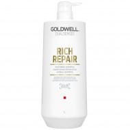 GOLDWELL Dualsenses Rich Repair Restoring Šampūns 1000 ml