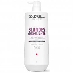 GOLDWELL Dualsenses Blondes & Highlights Anti-Yellow Šampūns 1000 ml