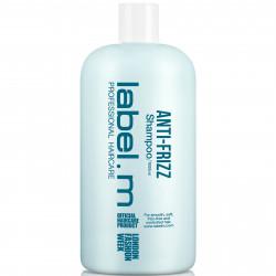 LABEL.M Anti-Frizz Šampūns 1000 ml