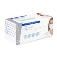 MEDICOM Safe+Mask Standard Vienreizējās Lietošanas Sejas Maskas Ar Ausu Cilpām 60 gb