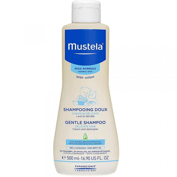 MUSTELA Gentle Bērnu Šampūns 500 ml