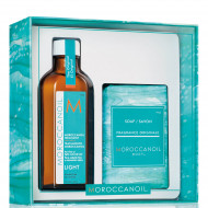 MOROCCANOIL Simply Beautiful Gift Set - Treatment Light
