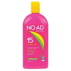 NO-AD Sun Care Sauļošanas Losjons SPF 15 475 ml
