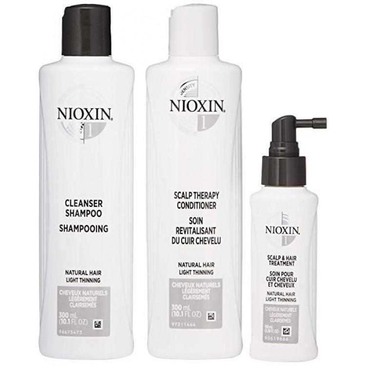 NIOXIN 3 PART SYSTEM 1 Komplekts