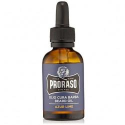 PRORASO Beard Oil Azur & Lime Eļļa Bārdas Kopšanai 30 ml