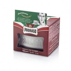 PRORASO Sandalwood Oil & Shea Butter Pirms Skūšanās Krēms 100 ml
