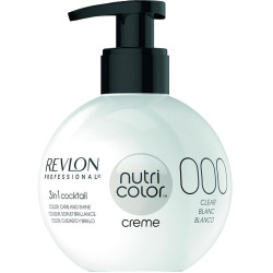 REVLON PROFESSIONAL Nutri Color Creme 000 Clear Krēm-Krāsa 270 ml