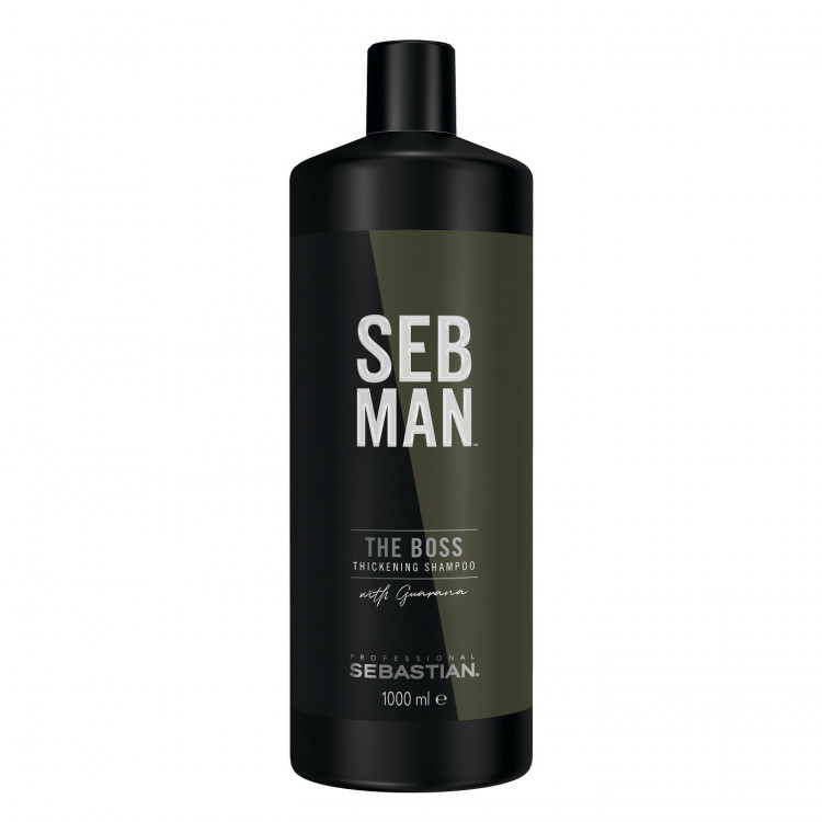 SEBASTIAN PROFESSIONAL Seb Man The Boss Hair Thickening Šampūns 1000 ml