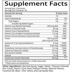 SUGARBEARHAIR Vitamīni Matiem 60 gb