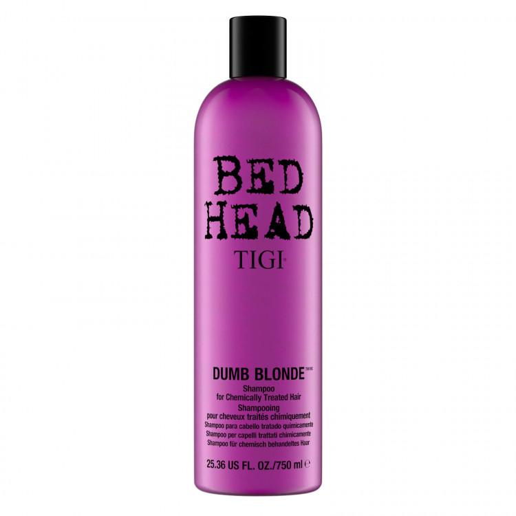 TIGI Bed Head Dumb Blonde Šampūns 750 ml
