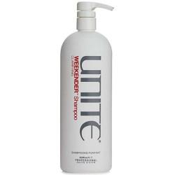 UNITE Weekender Clarifying Šampūns 1000 ml (BOJĀTA ETIĶETE)