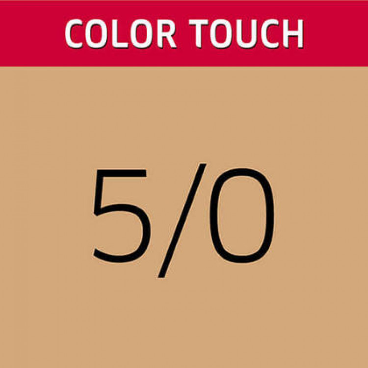 WELLA PROFESSIONALS Color Touch 5/0 Light/Natural Brown Demi-Permanent Matu Krāsa 57 g