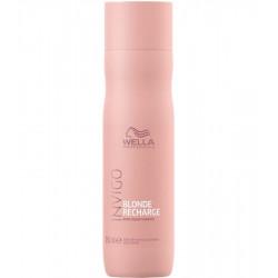 WELLA PROFESSIONALS Invigo Blonde Recharge Cool Blonde Šampūns 250 ml