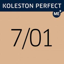 WELLA PROFESSIONALS Koleston Perfect ME+ matu krāsa Pure Naturals 7/01 60 ml