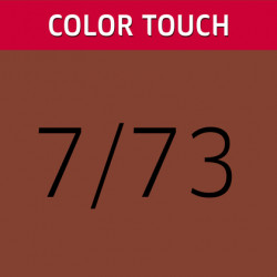 WELLA PROFESSIONALS Color Touch 7/73 Medium Gold Blonde matu krāsa 60 ml
