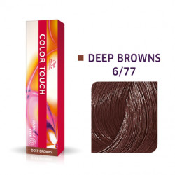 WELLA PROFESSIONALS Color Touch  6/77 Dark Blonde/Intense Brown Demi-Permanent Matu Krāsa 57 g