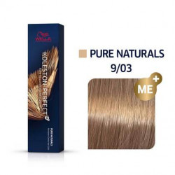 WELLA PROFESSIONALS Koleston Perfect Me+ matu krāsa Pure Naturals 9/03 60 ml