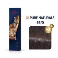 WELLA PROFESSIONALS Koleston Perfect Me+ Matu Krāsa Pure Naturals 66/0 60 ml