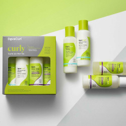 DEVACURL Curly Curls-on-the-Go Komplekts Cirtainiem Matiem