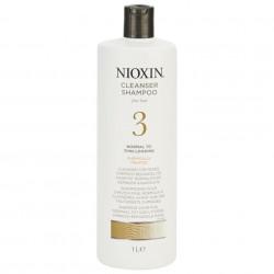 NIOXIN System 3 Cleanser Šampūns 1000 ml