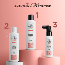 NIOXIN System 3 Cleanser Šampūns 300 ml