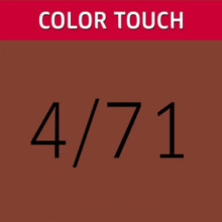 WELLA PROFESSIONALS Color Touch 4/71 Medium Brown/Brown Ash Demi-Permanent Matu Krāsa 57 g